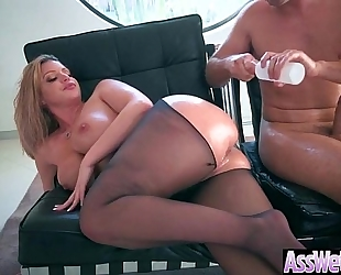 (brooklyn chase) large curvy wazoo white wife love unfathomable anal sex on webcam video-12