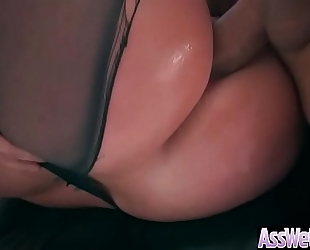 Anal unfathomable sex tape with giant round gazoo lustful housewife (brooklyn chase) movie-13