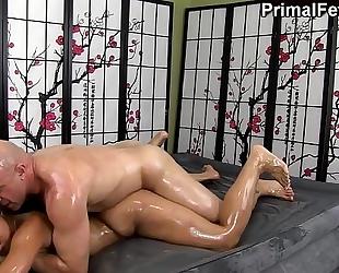 Adrian maya erotic oil dream fuck