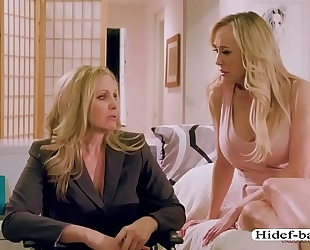 Milfs julia and brandi can't live without sexy 69