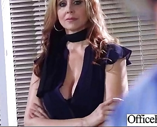 Hardcore sex with wicked large zeppelins office dirty slut wife (julia ann) mov-18