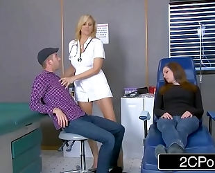 Cougar julia ann is one sexy nurse