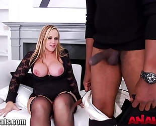 Analacrobats gaping milfs screwed by large dark ramrod