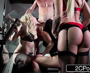 Pornstar foursome surprise for a fortunate dude - dahlia sky, aidra fox & kissa sins