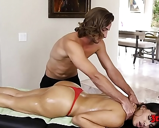 Horny brunette hair mercedes carrera sucks penis