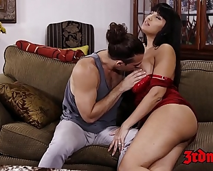 Supreme milf mercedes carrera drilled hard by a youthful dude
