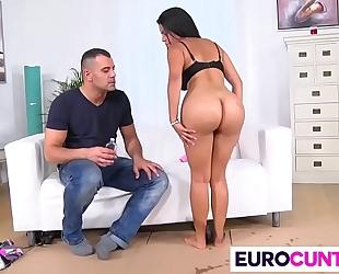 Two massive weenies fro europe punani kesha ortega