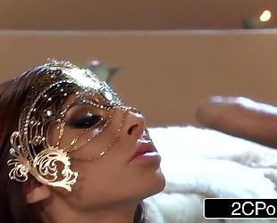 Big boobed egyptian mistress madison ivy engulfing hard shlong