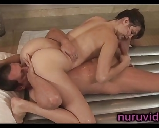 Busty holly michaels nuru massage