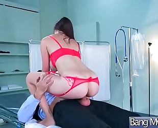 (holly michaels) hawt patient acquire tempted and gangbanged by doctor movie-12