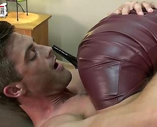 Ball squeeze tease secretary lance hart jade jantzen