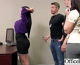 (diamond kitty) breasty office wench lewd amateur wife group-fucked clip-15