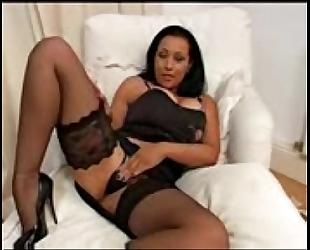 Latina morena con vibrator hot chica