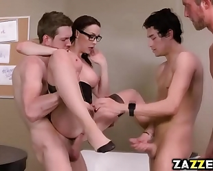 Chanel preston got all her holes stuffed with large dongs