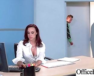 Round large pointer sisters hotwife (chanel preston) acquire group-fucked in office clip-19