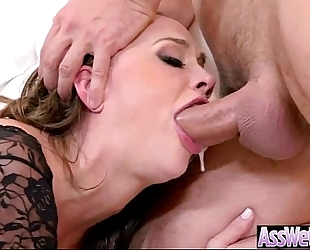 Anal unfathomable hard nailed a large curvy giant arse oiled housewife (chanel preston) video-08