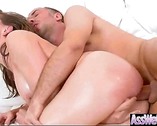 Huge booty white women (chanel preston) receive her oiled wazoo unfathomable nailed mov-10