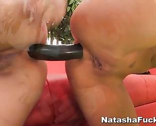 Natasha nice's first anal with asa