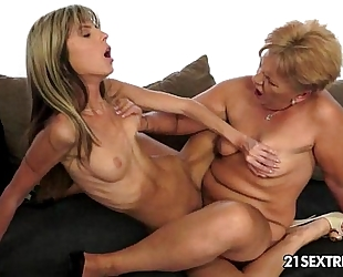 Caitlin and doris ivy old juvenile lesbo love