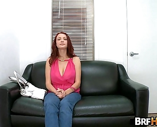 Red-head jessica rabbit receives drilled hard in her 1st porno.5