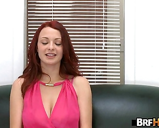 Red-head jessica rabbit acquires drilled hard in her 1st porno 1.4