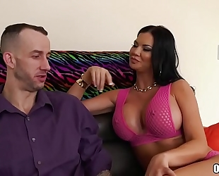 Silicone playgirl jasmine jae likes anal sex