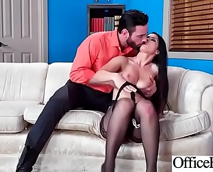 Hard sex tape in office with nasty breasty hawt horny white wife (katrina jade) video-13