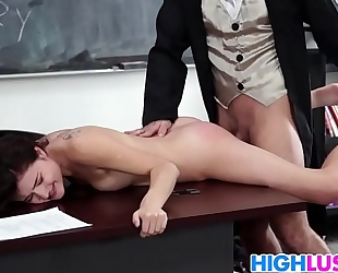 Sexy schoolgirl adria rae acquires rammed