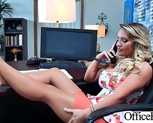 (cali carter) hawt large whoppers office black cock sluts love hard sex clip-07