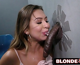Cheating whore melissa moore take large dark jock in an adult bookstore