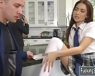 Melissa moore handles massive dong