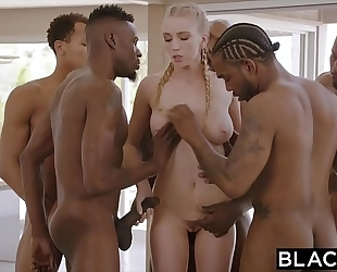 Blacked kendra sunderland bbc interracial group-sex!!