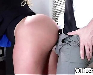 (julie cash) hot BBC slut with round large juggs in hardcore sex in office mov-21