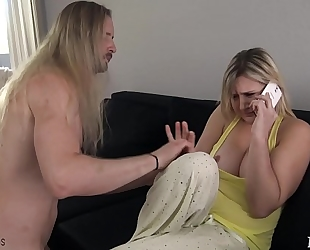 Mom gets screwed by sleepwalking son - fifi foxx & dong ninja