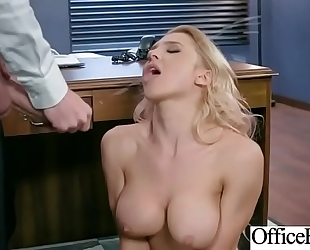 Sex in office with sexually excited breasty floozy black cock sluts (alix lynx) video-02