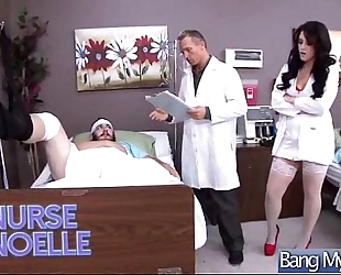 Sex betwixt doctor and hawt floozy patient (noelle easton) clip-26