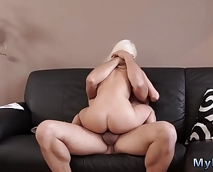 Blowjob for her dude and mad ally's brother ' compeer's sister fascinating