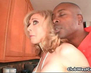 Horny blonde houswife nina hartley receives