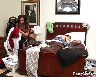 Horny stud goes balls unfathomable in his stepmom