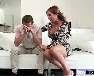 Mature cheating wife (richelle ryan) with large melon whoppers copulates vid-26