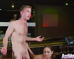 Hot oiled white wife (cathy heaven) with biggest wazoo have a fun anal sex vid-15