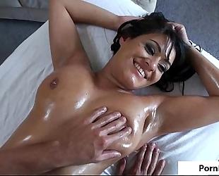 Charlie pursue luscious titty massage