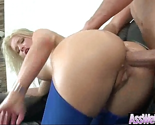 Big wazoo white bitch (anikka albrite) with large ramrod in her anal opening have a fun sex mov-03