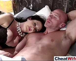 Hot sex act on tape with sweet cheating white women (jayden james) video-14