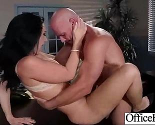 Sexy worker black cock sluts (jayden jaymes) with large melon scones in sex office action clip-21