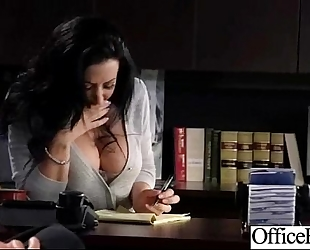 Lovely worker whore hotwife (jayden jaymes) with round large pointer sisters group-sex in office clip-20