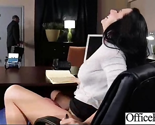 Office breasty slutwife (jayden jaymes) receive group-fucked hardcore clip-14
