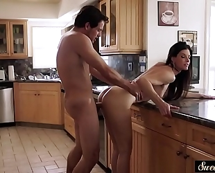 Amazing milf pounded by her sexually excited stepson