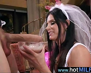 Hot sex scene act with large penis dude group-fucked by breasty milf (india summer) vid-16