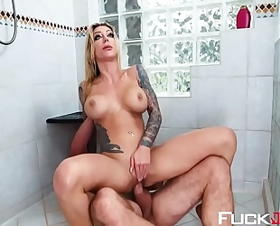 Karma rx in splish splash butt